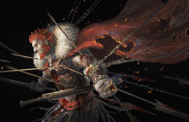 blood chain  fate stay night fate zero seeker sword weapon  zero rider anime hd wallpaper desktop pc wallpaper a83