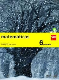 LIBRO DIGITAL  MATEMATICAS 6º