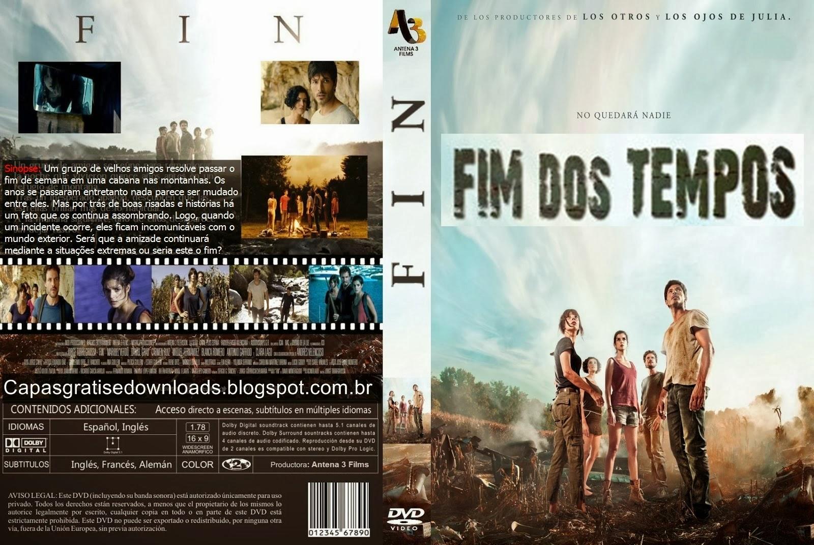 Filme Fim Dos Tempos DVD Capa
