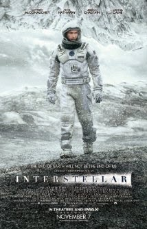 Movie poster: Interstellar