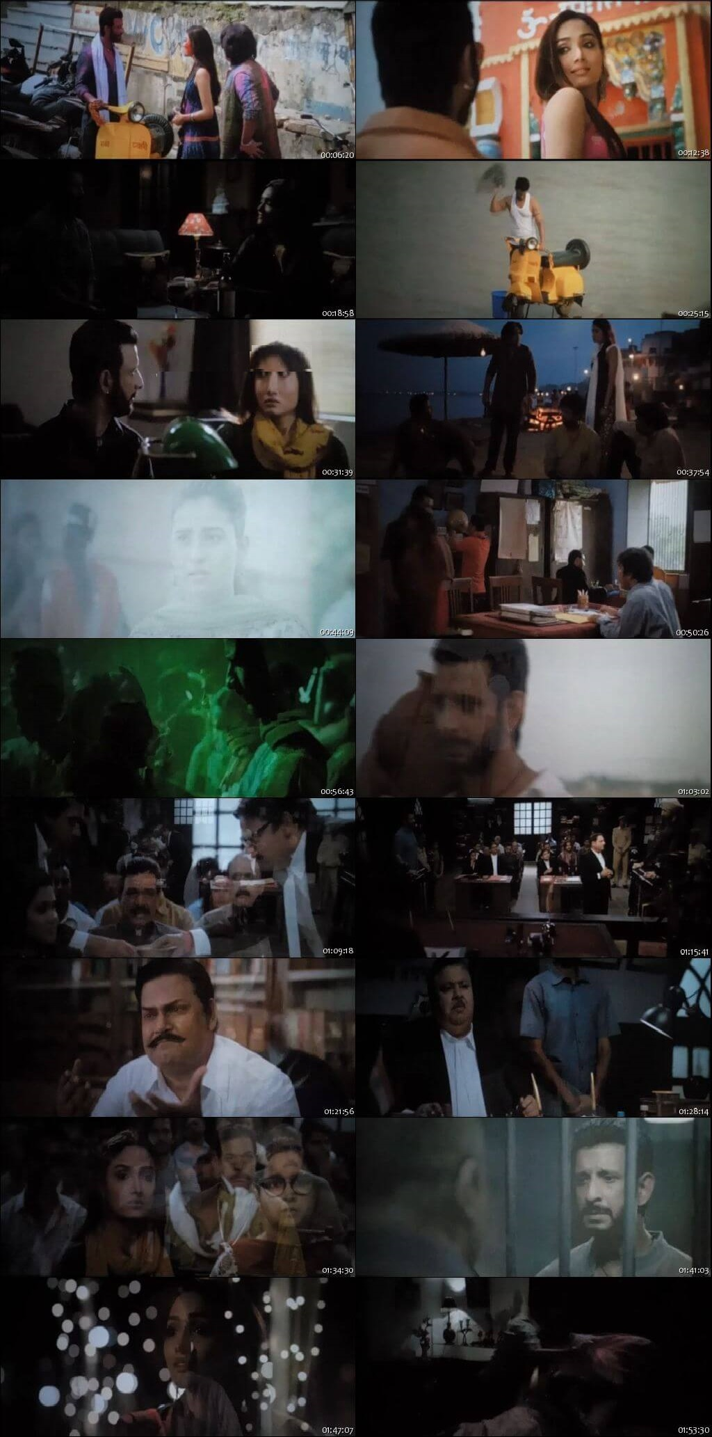 Screen Shot Of Kaashi in Search of Ganga 2018 300MB Pdvd Full Hindi Movie Watch Online Free Download