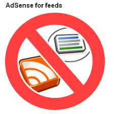 adsense for feed banned