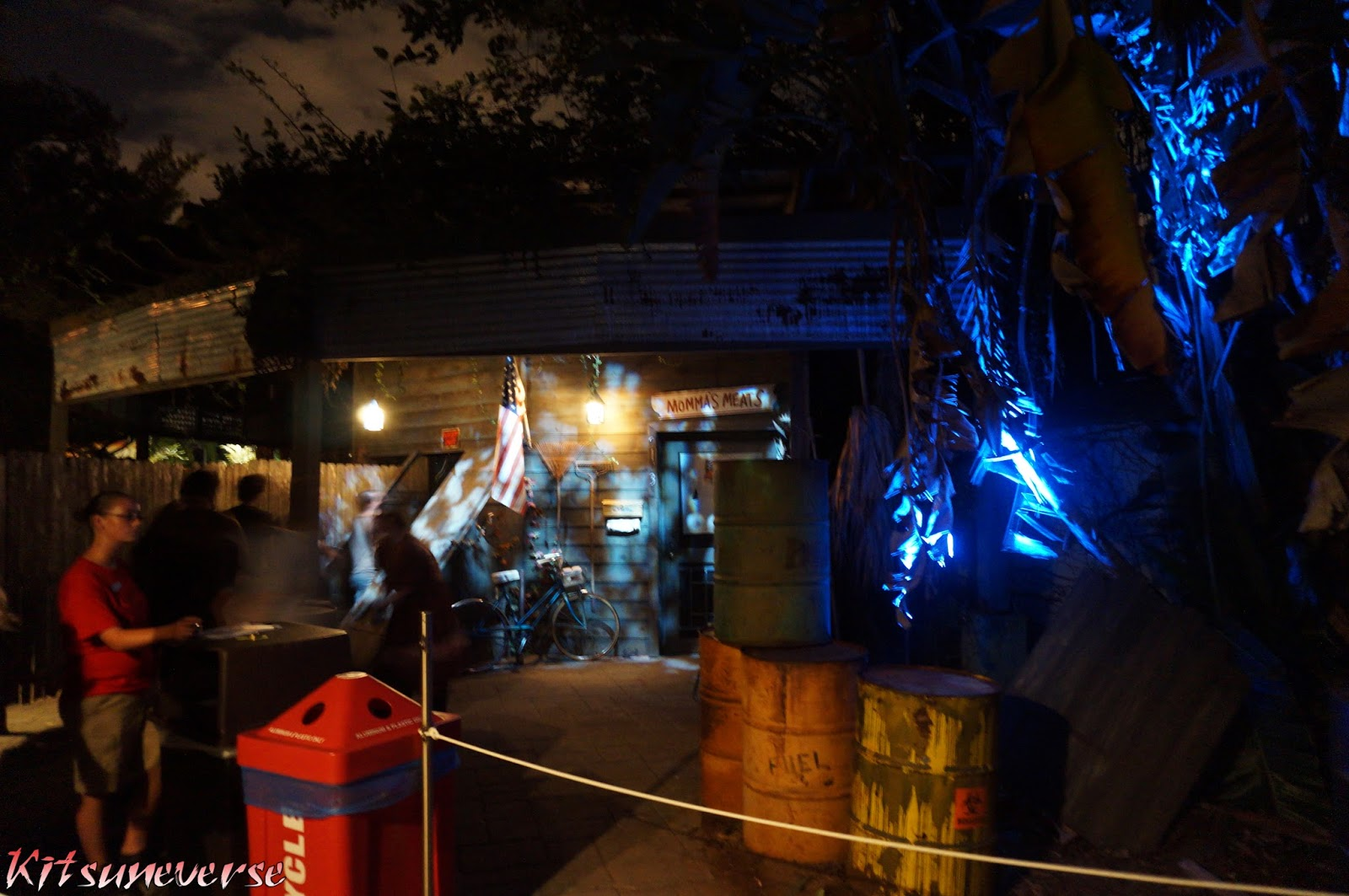 Kitsuneverse Haunt Review Busch Gardens Tampa 39 S Howl O Scream The 13 Come Out To Play