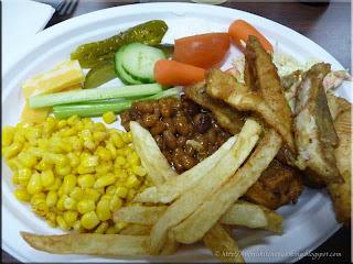 perch and pickerel dinner