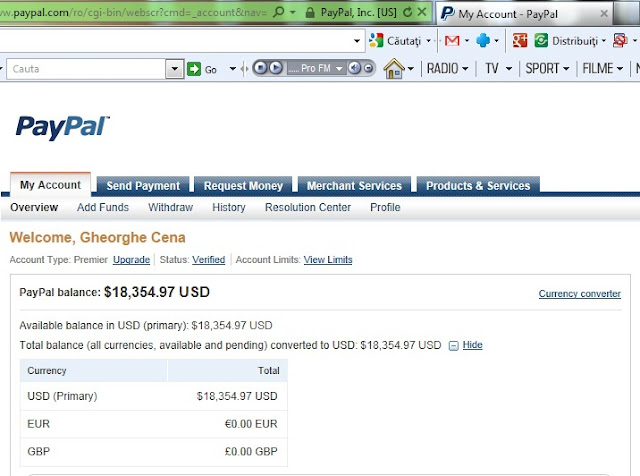 Paypal Boster Professional Paypal screenshot 1