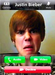 video call w/ JB