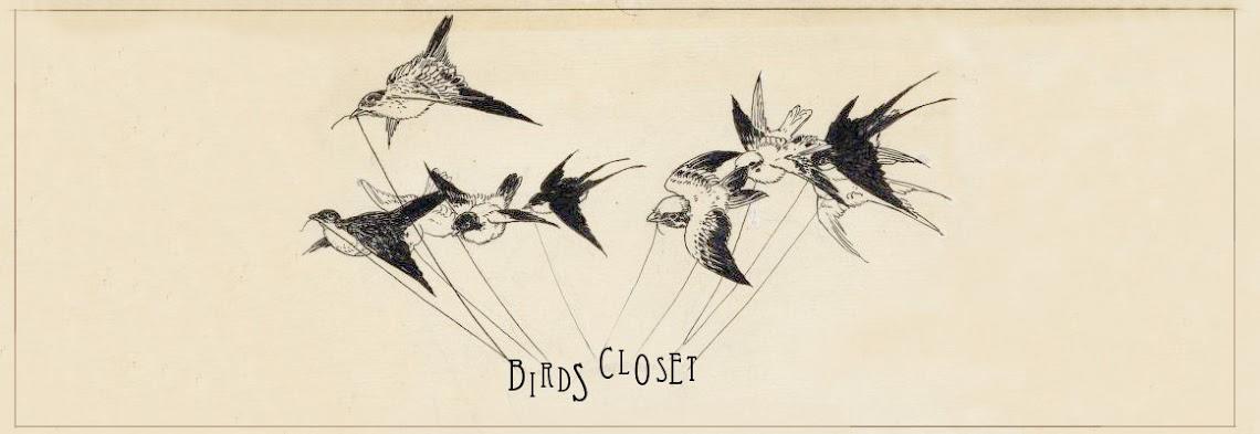 Birds closet