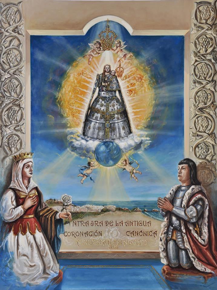 Cartel anunciador de la Coronación Canónica