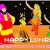Happy Lohri 2015 Facebook Cover Wallpaper, Whatsapp SMS