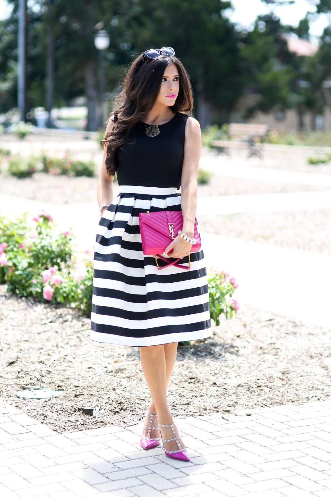 Outfits With White Midi Skirts