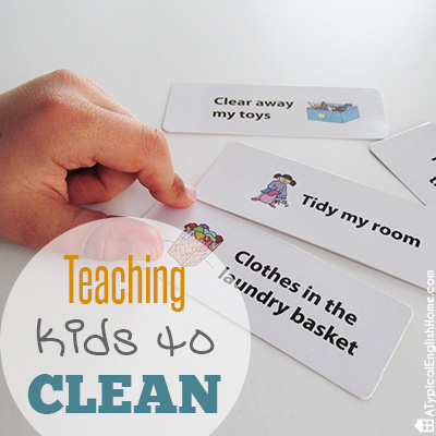 Teach Kids To Clean