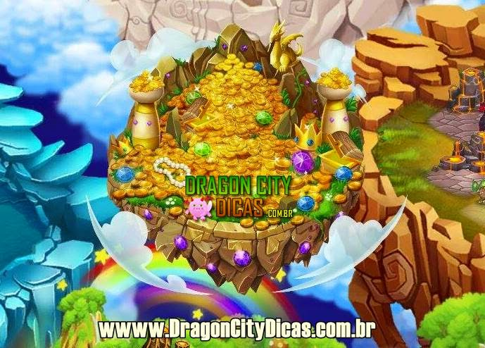 Ilha do Ouro - Dragon City