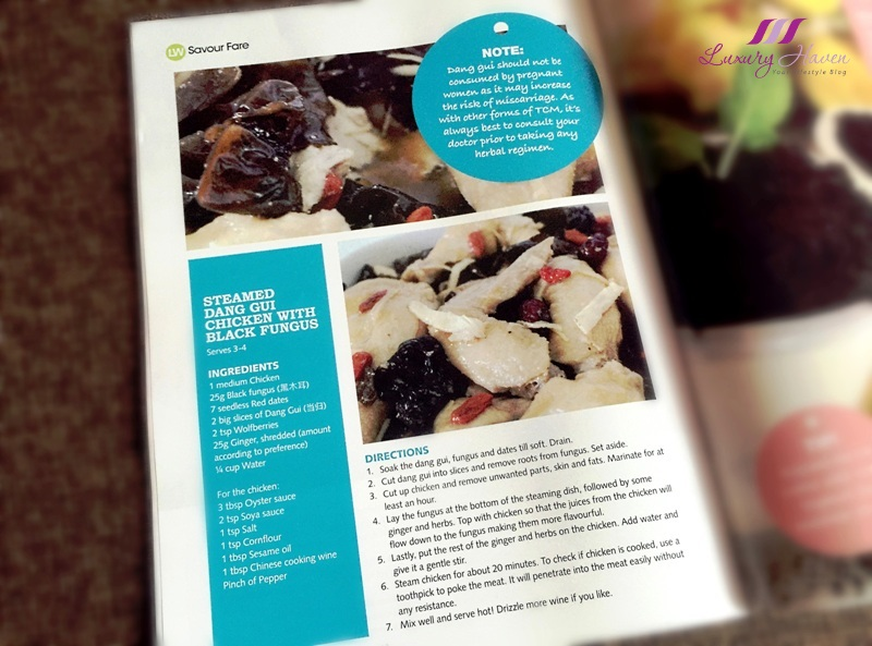 livewell magazine features healthy dang gui chicken recipe