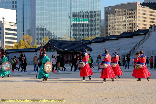 changing of guards Gyeongbokgung