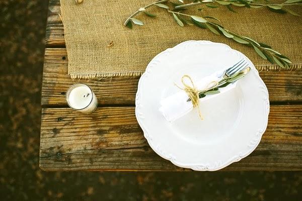 decorar mesa para boda de inspiración rústico francesa