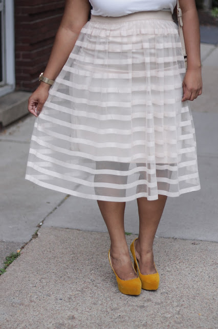 plus size sheer tulle skirt