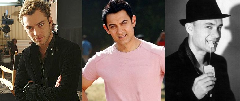 Jude Law Aamir Khan Tom Hanks
