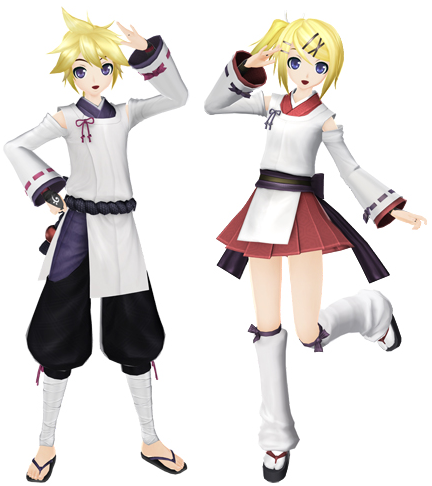 Game kei project diva f2nd costumes and songs update - Kagamine rin project diva ...