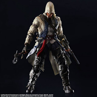 Square Enix Play Arts Kai Assassin's Creed III Connor Figure