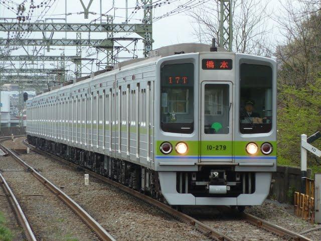 京王電鉄 各停 橋本行き7 都営10-000形270F(節電ダイヤに伴う運行)