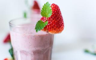 Batido de fresas en tu dieta para adelgazar