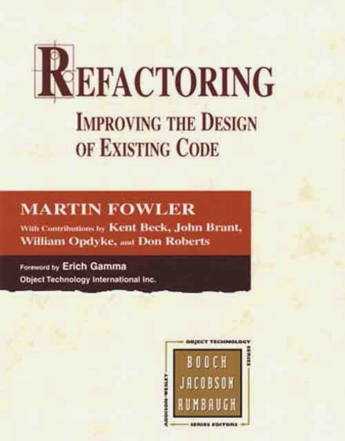 Best Books to Learn programming Languages -Refactoring – Improving the Designs of Exciting Code