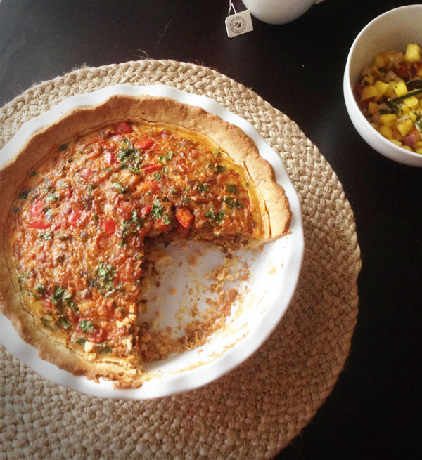 Breakfast Taco Pie | Healing and Eating