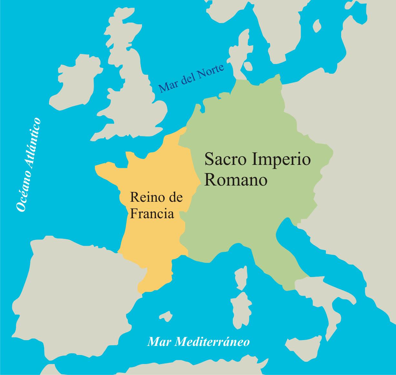 La Edad Media: Sacro Imperio romano germánico