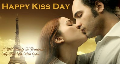Happy kiss day wishes 2015