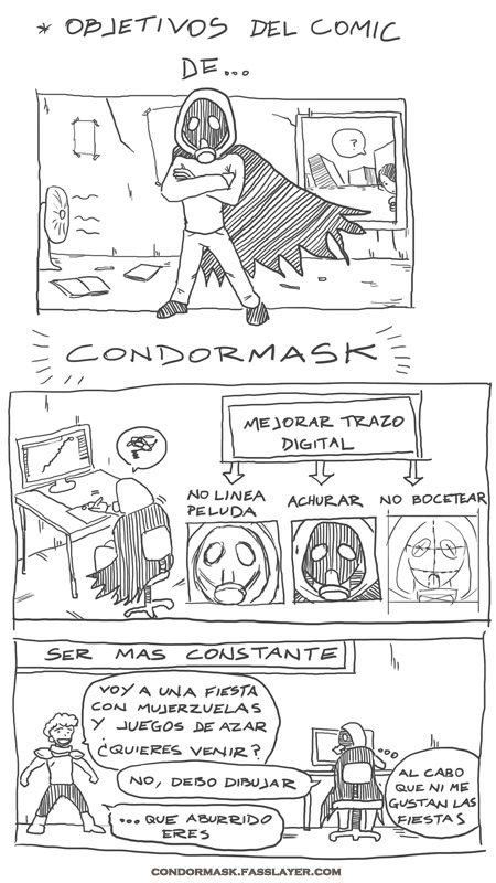condormask webcomic