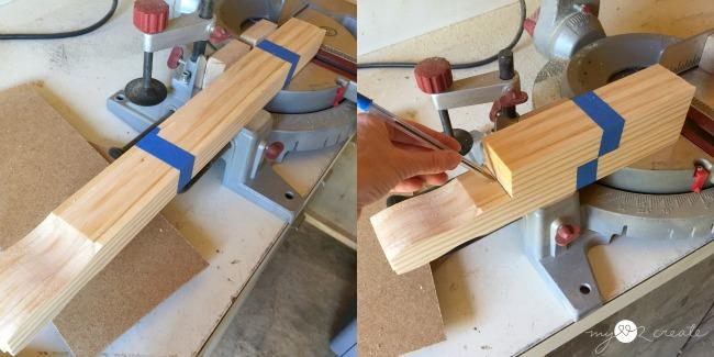 cutting paint sticks
