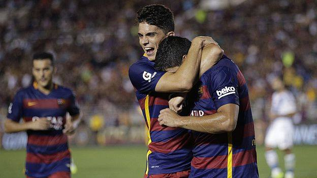 Highlights Barcelona 2 – 1 LA Galaxy (International Champions Cup)