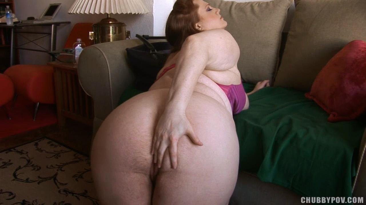 chubby anal pov