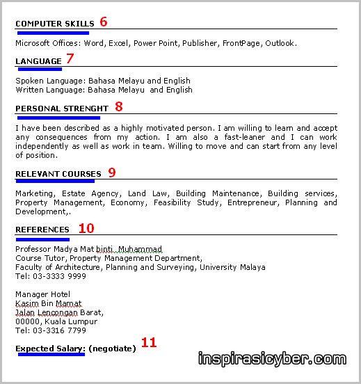Koleksi Contoh Resume Lengkap Terbaik Dan Terkini | SUMBER RUJUKAN