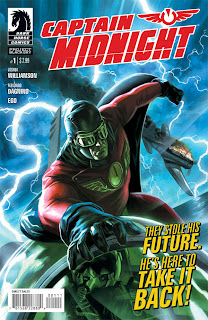 Captain Midnight #1a cover by Felipe Massafera from Dark Horse Comics