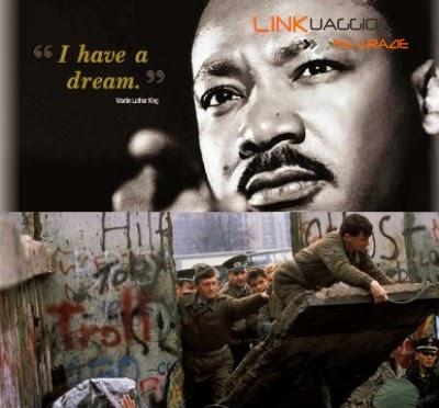 Luther King e caduta Muro di Berlino