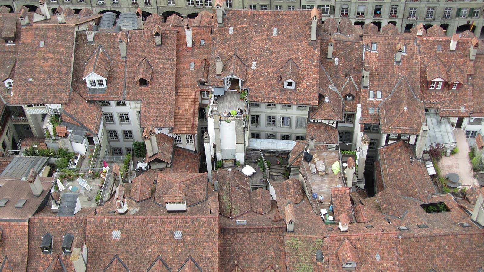 Tejados en Berna