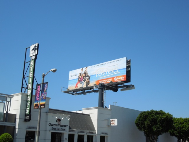 Fosters tv billboard