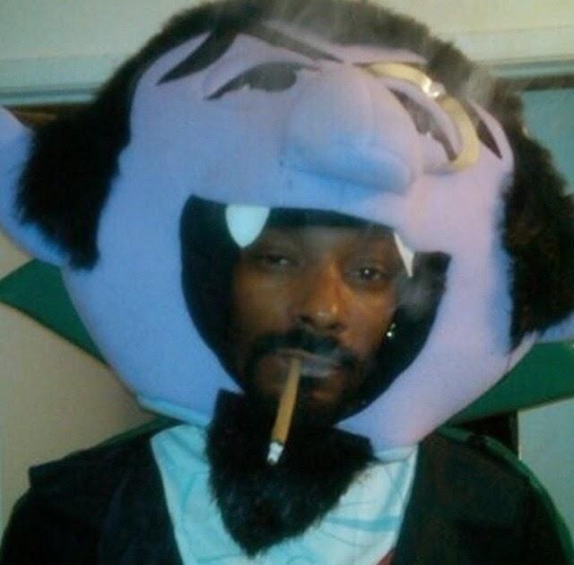 Snoop Dogg se disfraza de Drácula