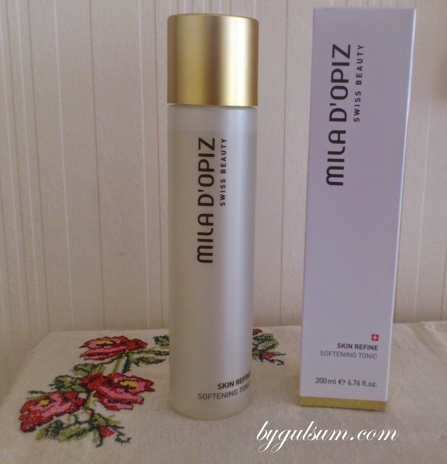 Mila D'Opiz Skin Refine Softening Tonic