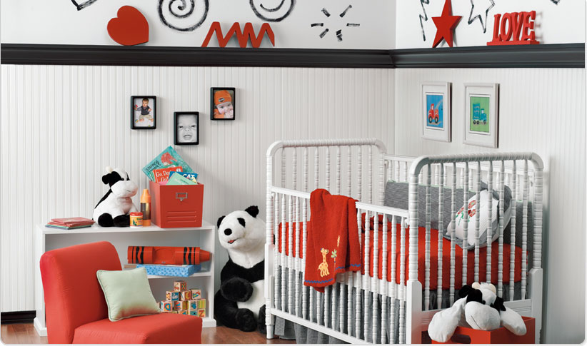 Red Baby Boy Rooms