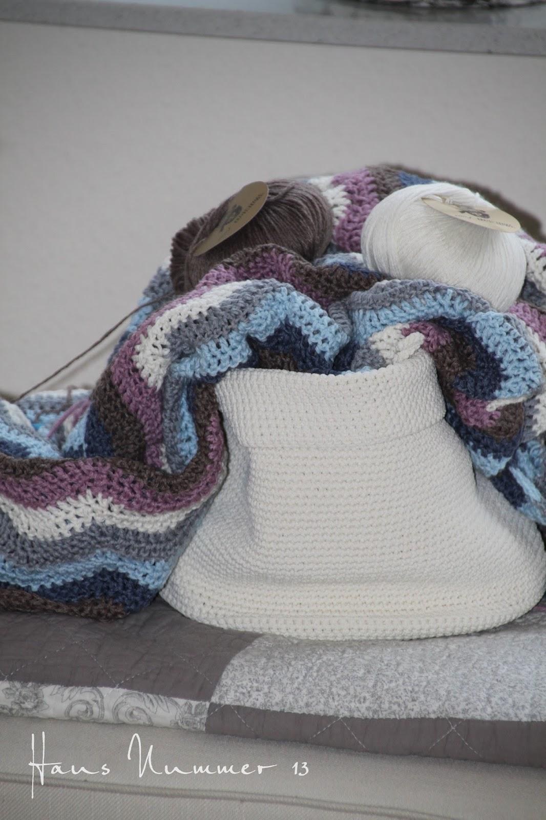 Crochet Love - mein Ripple Blanket - Haus Nummer 13