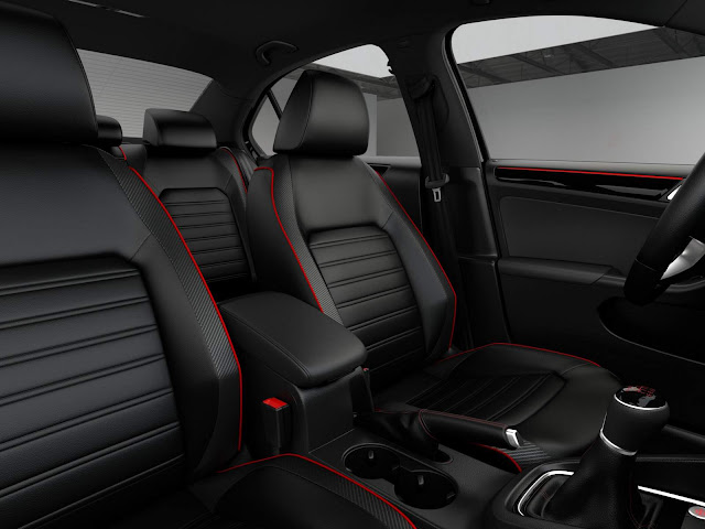 2016 VW Jetta GLi - interior