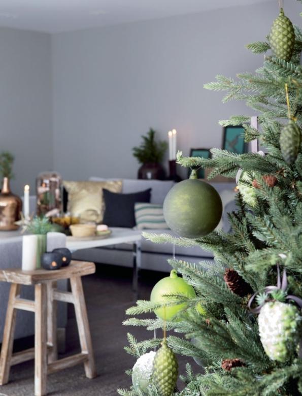 Navidad en verde, detalles navideños en verde