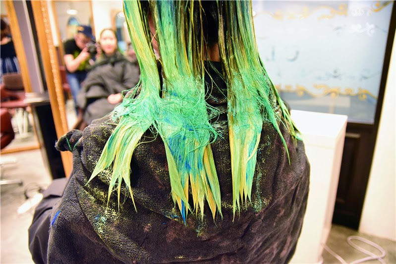 cool hair colours cleo hair and make singapore blog