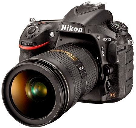 Harga & Spesifikasi Kamera DSLR Nikon D810