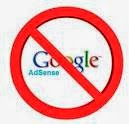 Blog di banned adsense