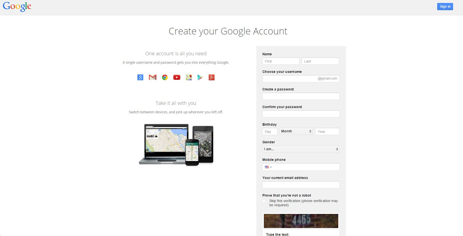 how to create a signature on google my account