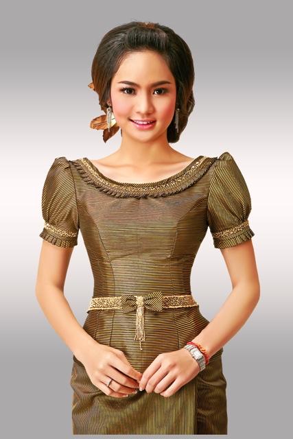 Cambodia Women Clothes Khmer Wedding Clothes