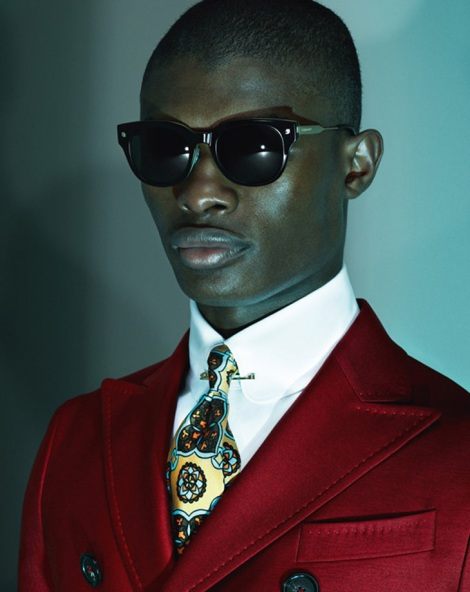 Dsquared2 Fall 2013 Campaign Suit image